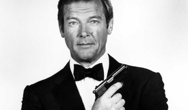 Sir Roger Moore- James Bond On Screen-  No More
