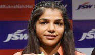 Sakshi Malik In Asian Wrestling Ch'ship Finals