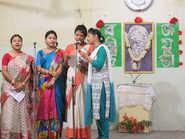 Rabindra Jayanti celebrated at Stratford Day School