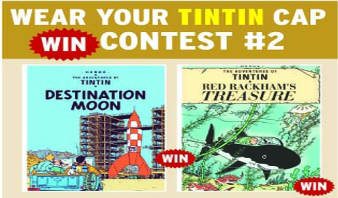 Tintin Contest 2. Send Your Ideas Now