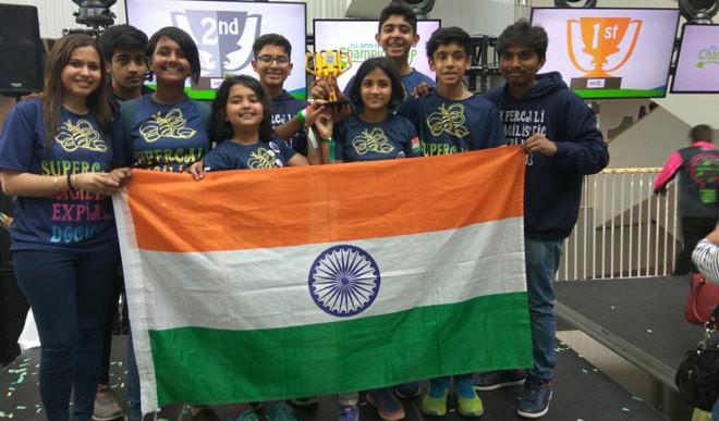 Delhi Kids Win Second Prize In Robo Compt In Denmark