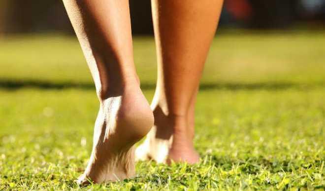 For Good Health, Walk Barefoot