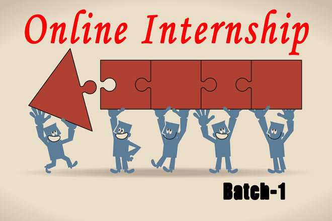 Congratulations, Batch-1 Interns For The Online Internship