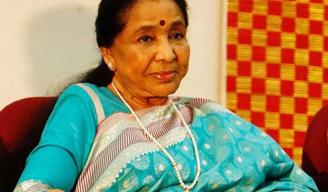 Asha Bhosle's Wax Statute At Madame Tussauds?
