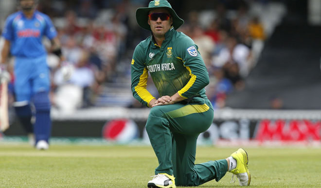 AB To Lead SA In T20's Against Eng