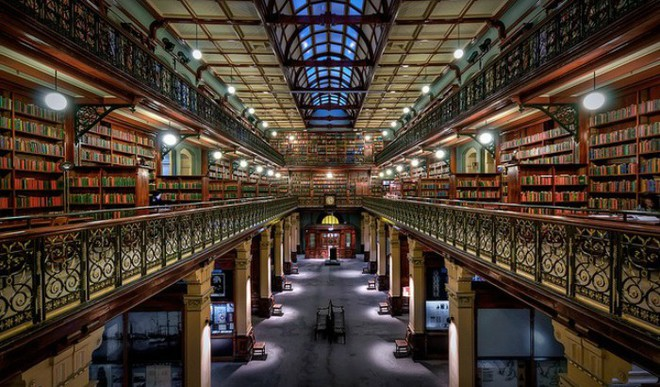 Spectacular Libraries In The World