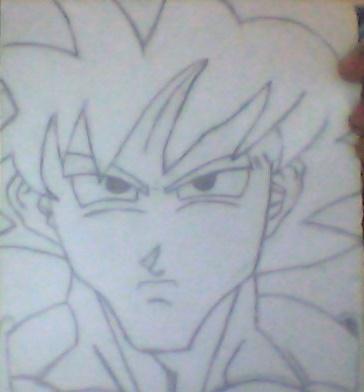 Yatin Sketches Goku