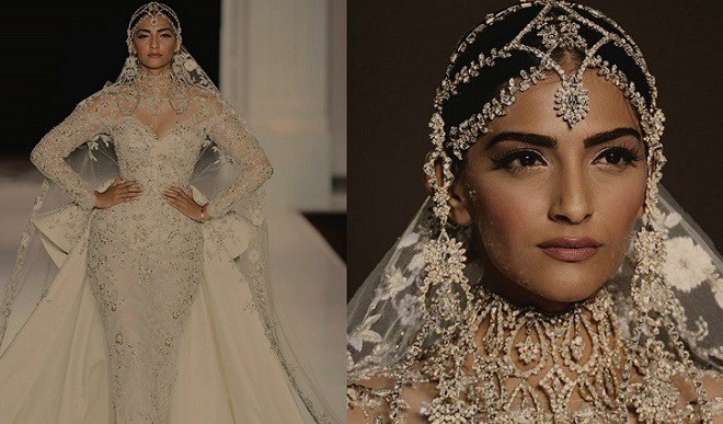 Sonam Kapoor At Paris Couture Week
