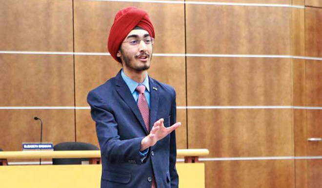 Indo-American Student Wins Top Orator Contest