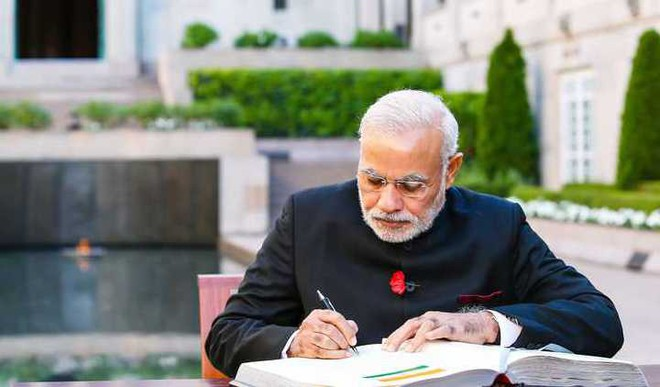 PM Modi To Publish Book For You