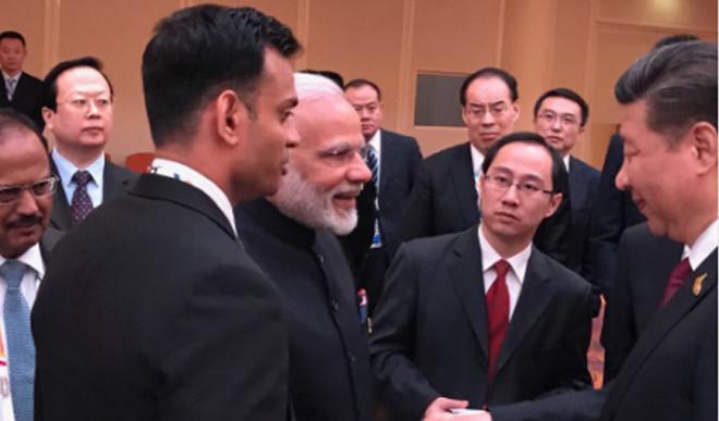 Amid Border Standoff, Modi-Xi Meet In Hamburg