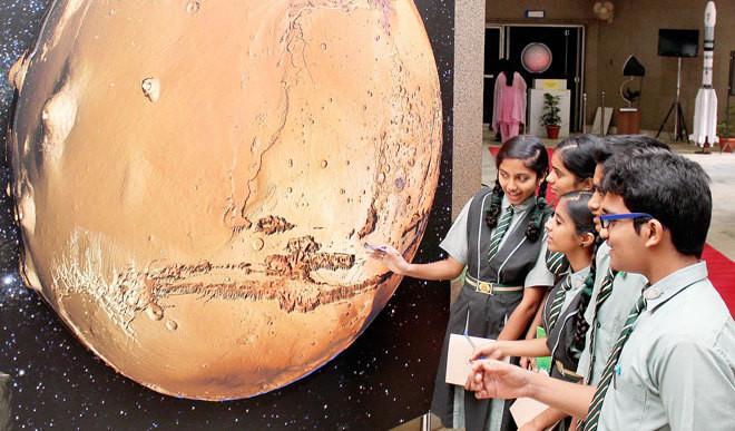 Indian Students Win Intl Mars Art Contest