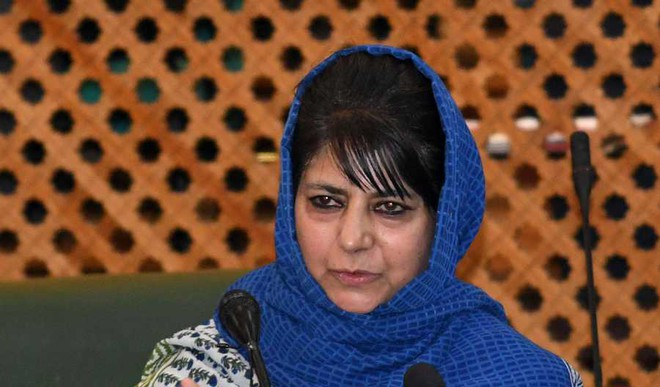 Mehbooba Broke Protocol For Amarnath Victims