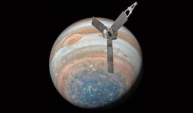 Juno completes Jupiter's Great Red Spot flyby