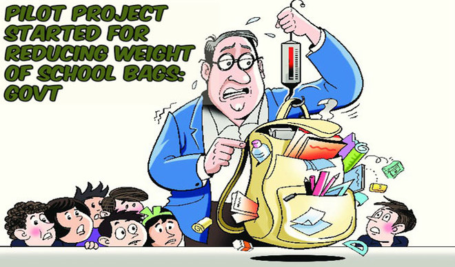 Suggest Ways To Reduce The Weight Of School Bags