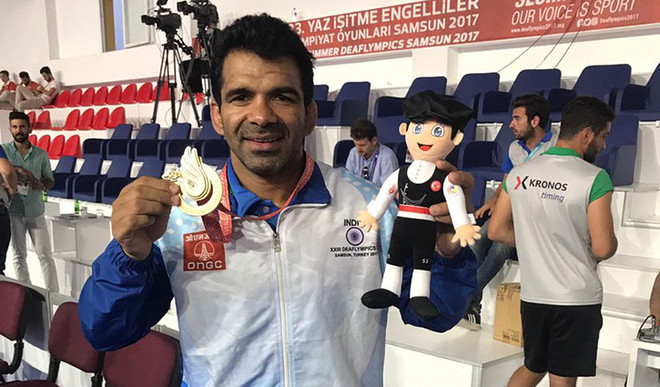 Singh Wins Gold At The Deaflympics In Turkey