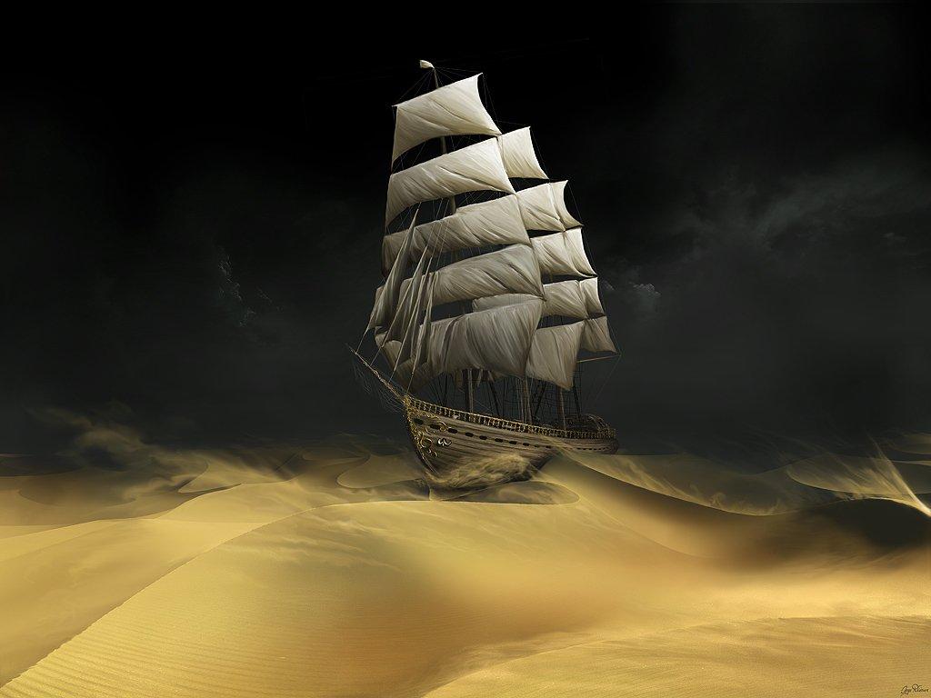 'The Sail-Ship of Life' By Govind Krishnan