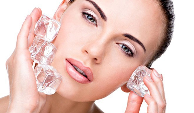 Beauty Uses Of Ice Cubes For Skin