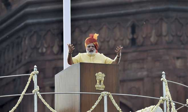 Namo Calls For A New India By 2022