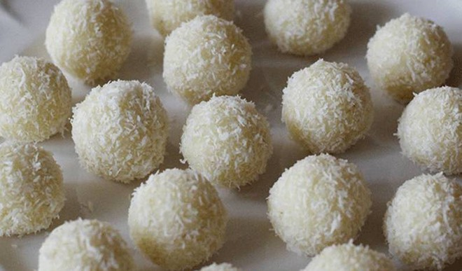 Indulgence Is This: Coconut Ladoo