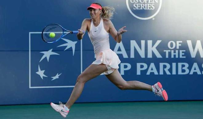 Sharapova Stuns Halep In US Open