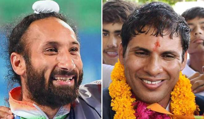 Jhajharia, Singh Receive Khel Ratna