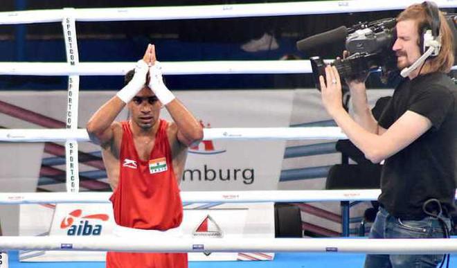 Gaurav Bidhuri Assures Medal At WBC