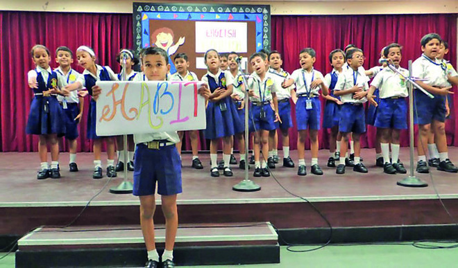 Intra-class Elocution Competition At The St Xavier's School