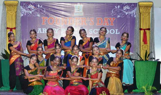 Founder's Day celebrations at APS, SP Marg