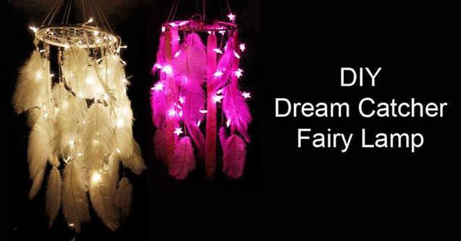 Dream Catcher Fairy Lamp Workshop