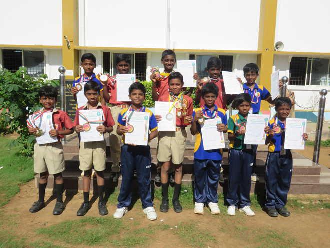 Sri Krish International School's Champions