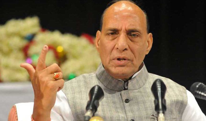 '5 Cs' Can Solve Kashmir Issue: Rajnath