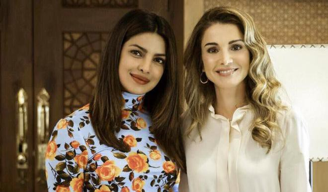 Priyanka Chopra Meets Queen Rania In Jordan