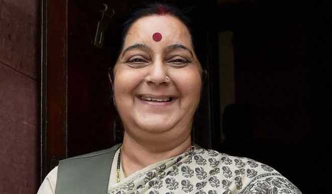Swaraj In NYC For UN General Assembly Meet