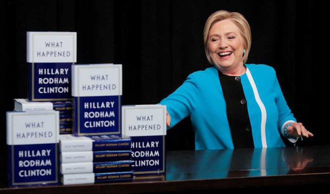 Clinton's Memoir Relives Her Election