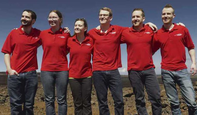 6 Emerge From 8 month old Mock Mars Mission