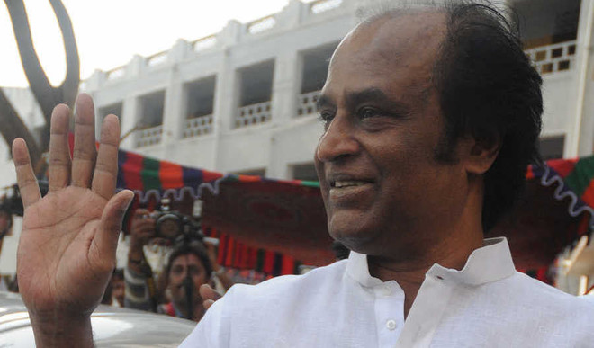 Rajinikanth Supports PM's Swachhta Mission
