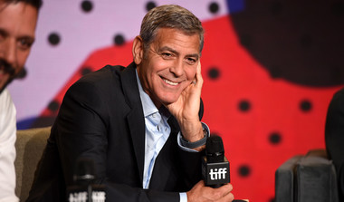 Her Speeches Didn't Soar: Clooney On Clinton