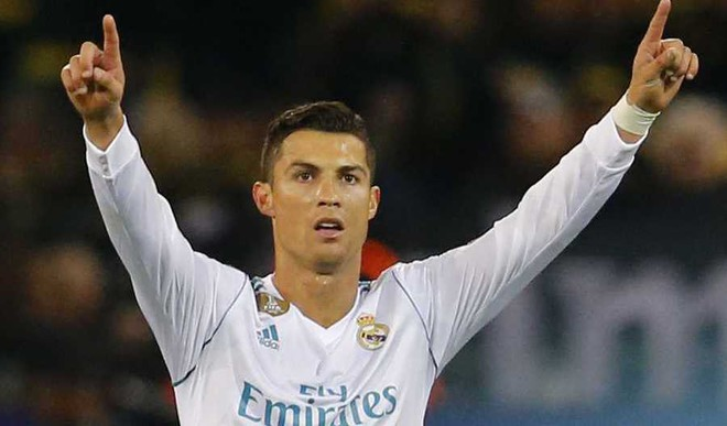 Ronaldo Double Seals Win For Real