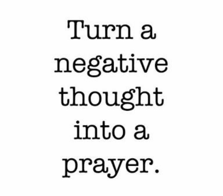 Hemlatha: Turn Your Negative Thoughts To Prayer