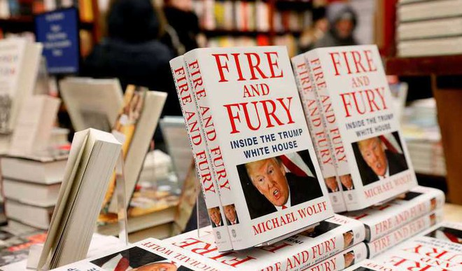 'Fire And Fury' Sells Like Hot Cakes