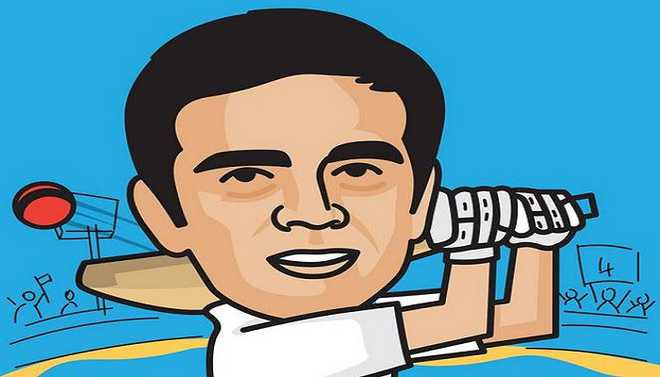 Now, A Comic Book On Dravid's Life