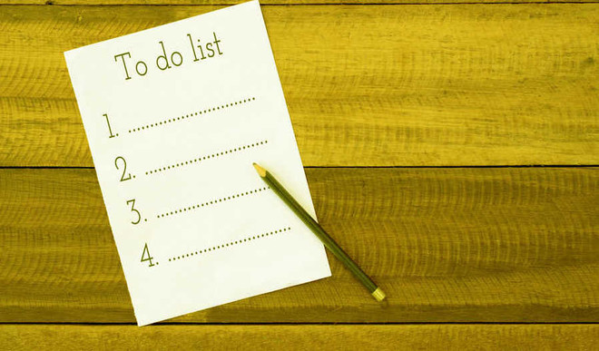 Can't Sleep? Try Writing A 'To-Do' List