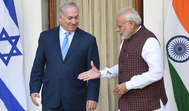 Modi, Netanyahu Bonhomie In 10 Points