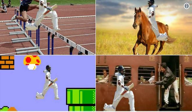 Kohli's Ton Celebration Pose Is A Hit Meme