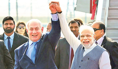 What Netanyahu's Visit Means For India?