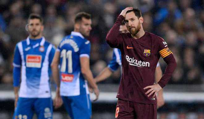 Missed Messi Penalty Costs Barca