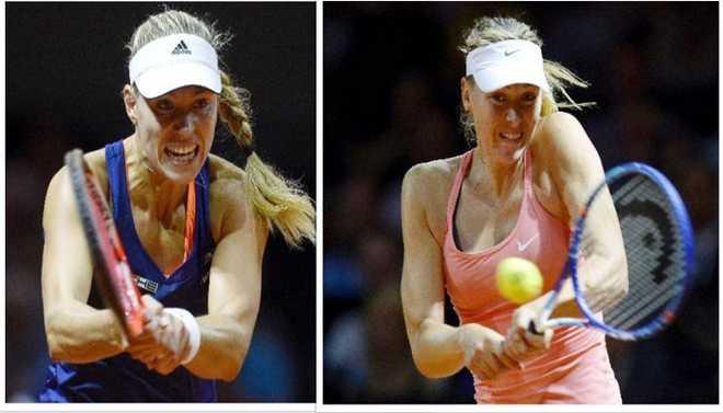Kerber, Sharapova Clash In Aus Open