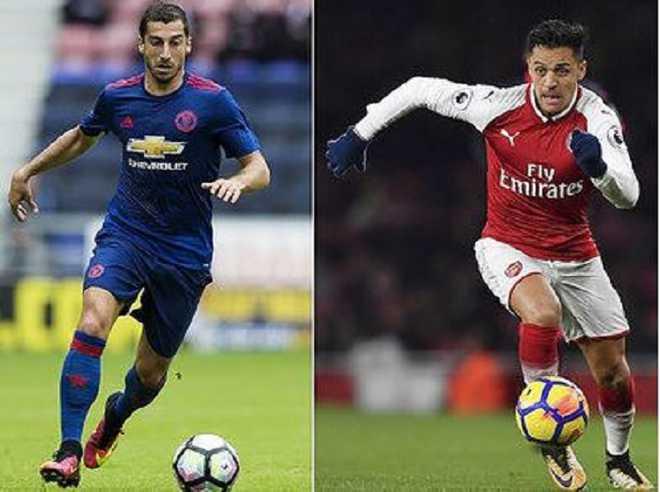 Sanchez, Mkhitaryan Complete Swap