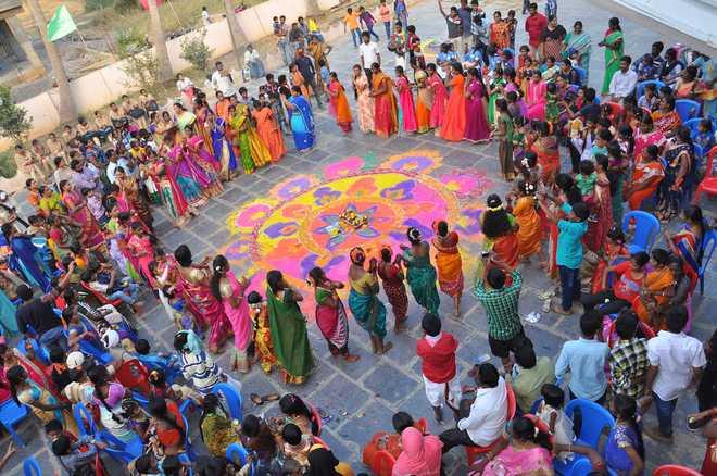 Celebrating Sankranti